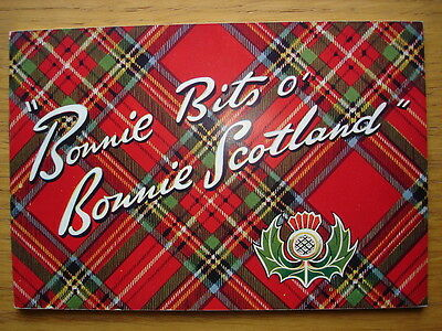 Bonnie Bits O' Bonnie Scotland. Images of postcards by Valentine's in book form