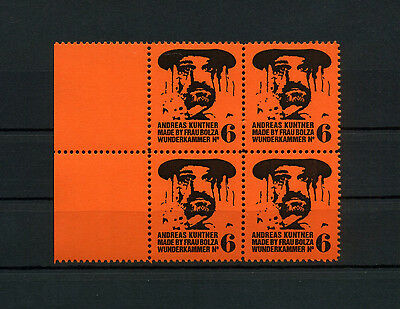 F9J ARTISTAMPS ANDREAS KUNTNER MADE BY FRAU BOLZA Alexandra Bolzer Poster Stamp