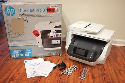 HP OfficeJet Pro 8720 Wireless All-in-One Photo Printer Free Shipping No Ink