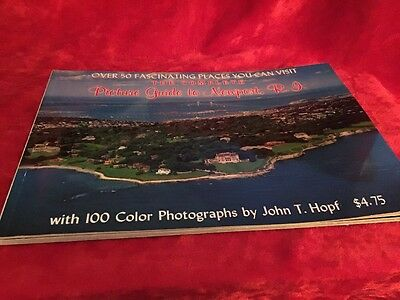 Newport Rhode Island - Complete Guide Booklet & Post Cards
