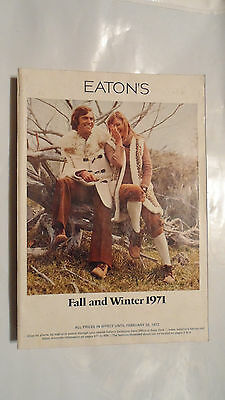 Vintage 1971 Eaton's Fall And Winter  Store Catalog 820 Pages