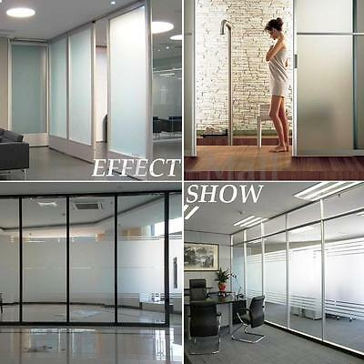 "36""x16ft Frosted Window Glass Privacy Decor PVC Film For DIY Home/Office/Store"