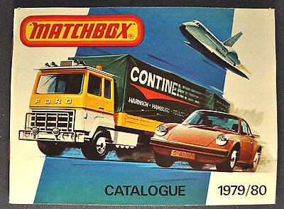 1979 - 1980 MATCHBOX TOY CATALOG Full Line Color Mint Condition