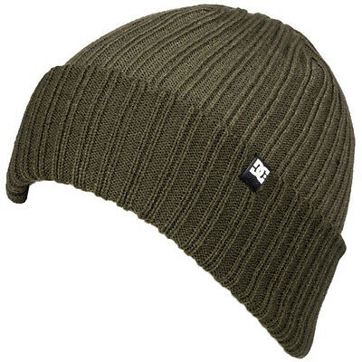 Dc Fish N Destroy Mens Headwear Beanie Hat - Fatigue Green One Size