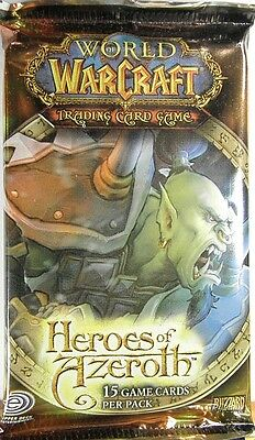 World of Warcraft ~ HEROES of AZEROTH Sealed BOOSTER PACK WoW TCG