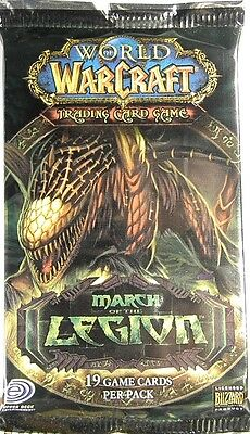 World of Warcraft ~ MARCH of the LEGION Sealed BOOSTER PACK WoW TCG