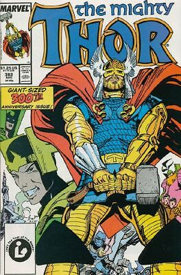 Thor #382 VG/F 1987 Marvel 300th Thor Issue Comic Book