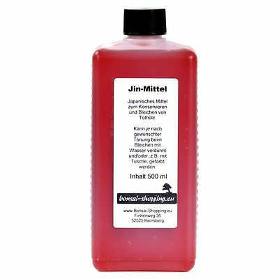 Bonsai - Jinmittel 500 ml for the preservation of Deadwood