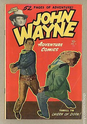 John Wayne Adventure Comics (1949) #6 GD+ 2.5