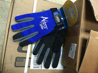 NEW AFTCO Bluefever Utility Fishing Fighting Gloves XL GLOVEUXLBLUE