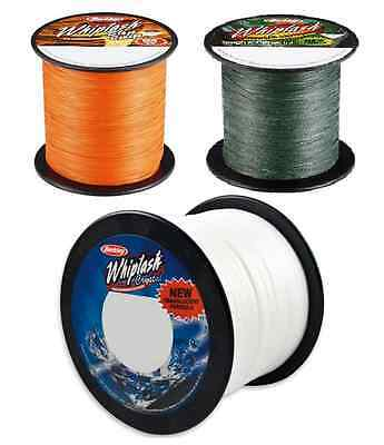 Berkley Whiplash Tresse MASSE BOBINE 2000m Tous Coloris FERMANT EN BAS