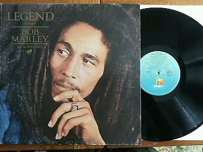Legend the best of Bob Marley and The Wailers - 1984 - Island + Poster