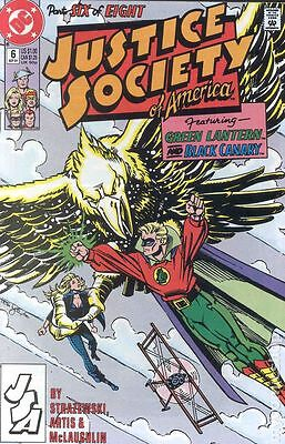 Justice Society of America (1991 1st Series) #6 FN