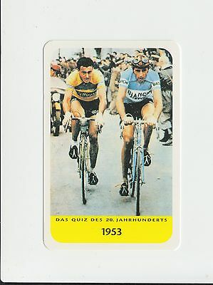 Cycling : Fausto Coppi : German collectable game card