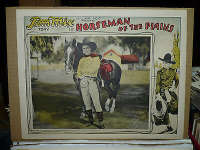 HORSEMAN OF THE PLAINS, nr mint orig 1928 LC (Tom Mix and his horse, Tony)