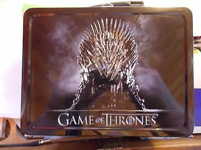 Game Of Thrones Hbo Metal Lunchbox...   See Photos