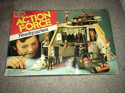 Action Force Headquarters Palitoy Unused Contents Sealed