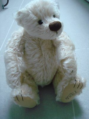 "New  Gund Bear 13"" High, Cliff Richard Collection With Cert."