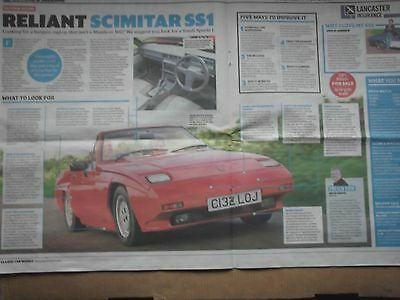 Reliant Scimitar Ss1 - Buying Guide