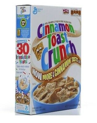Cinnamon Toast Crunch Cereal Breakfast Food Snack