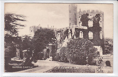 Rare Vintage Postcard Norris Castle, East Cowes, Isle Of Wight / Iow / Iw