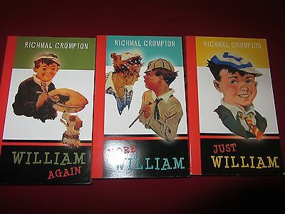 Just William, books 1,2 and 3 NEW