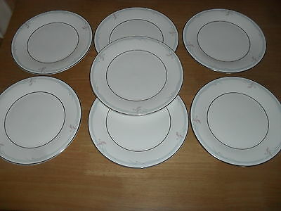 7  Royal  Doulton  Side  Plates  6 1/2 Inch  Unused