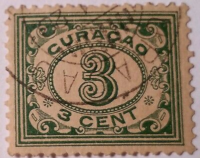 Curacao  Scott #51 Used   Stamp  ...worldwide Stamps