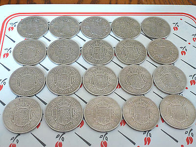 Buy 3 Get 1 Free Half Crown 1947-1967 In Ex Condition Your Choose *free Post*