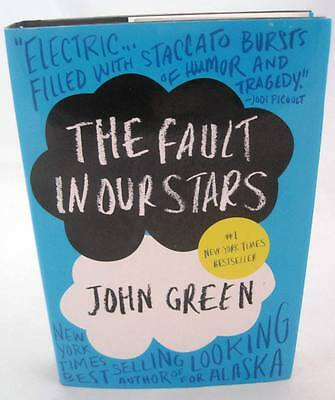 The Fault in Our Stars John Green HAND SIGNED 1st Edition 1st Print NEW Book