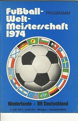 WORLD CUP FINAL 1974: West Germany v Holland RARE!