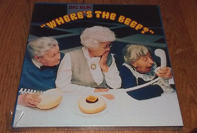 Wendy's Where's The Beef  Commercial puzzle Vintage New