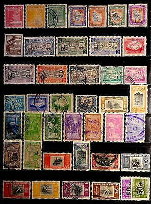 Bolivia: 1940's To 1950's Stamp Collection