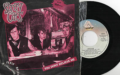 "STRAY CATS - You Don't Believe Me / Wasn't't That Good, 7"" SG  SPAIN 1981"