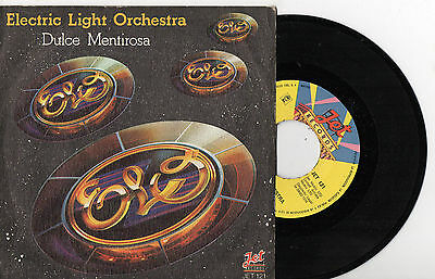 "ELECTRIC LIGHT ORCHESTRA / Dulce Liar, SG 7"" SPANISH PRESS 1978"
