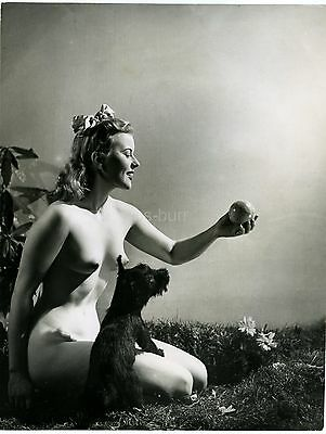 Nude / Glamour Photo Of A Model By Stephen Glass c1940s/50s