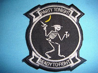 VIETNAM WAR BL PATCH, USAF 13th BOMB SQUADRON  PARTY TONIGHT, READY TO FIGHT,