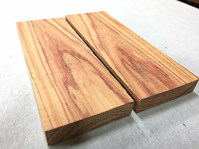 Brazilian Tulipwood Wood Knife Handle Blanks Scales Gun Grip Exotic Lumber