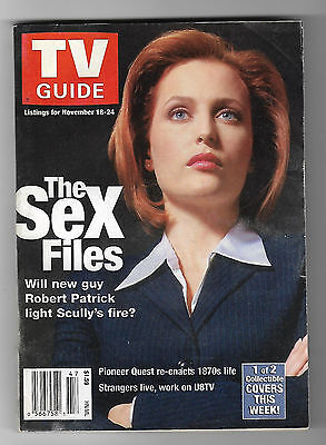 TV Guide The X-Files Canadian Edition 2000