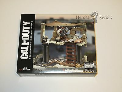 Call of Duty COD Mega Bloks Set #DPB52 Recon Outpost New NIB