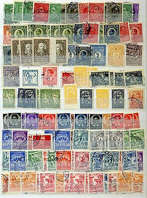 Yugoslavia small collection from the 1900's  good used selection + mint lot