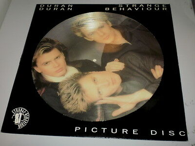 "Duran Duran - Strange Behaviour - Limited Picture Disc Edition - 1986 - 12"" -"