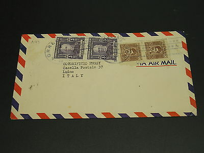 El Salvador 1949 airmail cover to Italy *9183