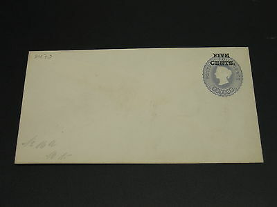 Ceylon old mint stationery cover *9479