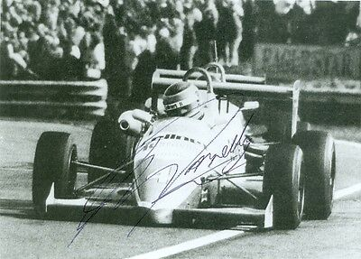 Martin Donnelly - Original Signed Foto - Early Sign: Thruxton 1988