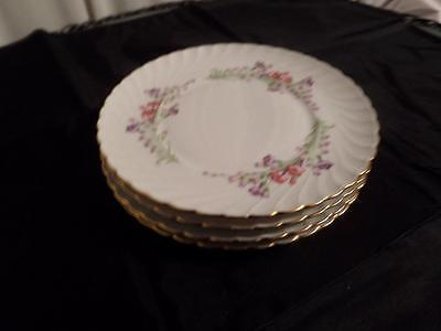 Royal Bayreuth...Germany..US Zone....WEST WIND....1946-1949....5 Salad Plates
