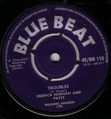 Derrick Morgan/skinhead Reggae/blue Beat 45/troubles - Are You Going To Marry Me