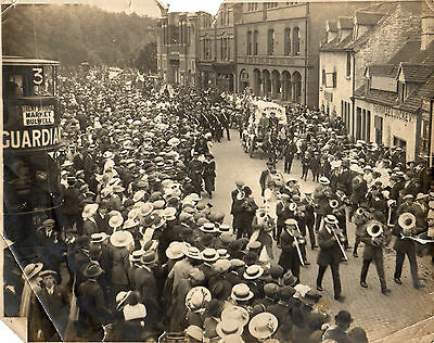 Demonstration At Bulwell 1917 - For Childrens Cott Fund