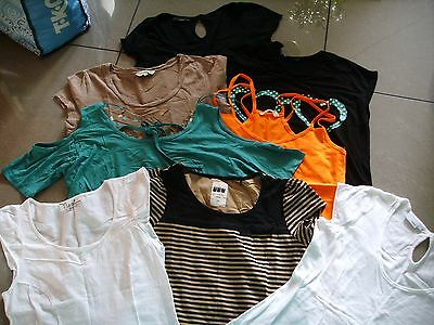 Bundle Of 8 Ladies Tops Size 14 all in VGC
