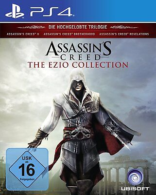 Assassins Creed - Ezio Collection    PS4     Playstation 4   !!!!! NEU+OVP !!!!!